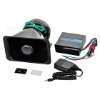 100W Vehicle Bull Horn Loud Speaker and Siren System