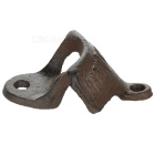 Retro Wall-Hung Cast Iron Bottle Opener - Coffee