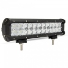 120W 24-XTE LED Off-road 4WD UTV Driving Lamp Worklight Bar w/ Lens Spot + Flood Beam 10200lm