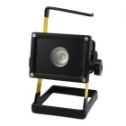 BORUIT RJ-2134 Camping 12W 1000lm Cool White LED Lamp - Black + Yellow