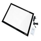 Dbmier A2 Adjustable LED Light Tracer Artcraft Pad Box - Black + White