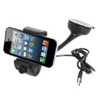 Bluetooth V3.0 + EDR Handsfree Car Kit w/ Phone Holder / MP3 Player / FM Transmitter / Speaker