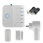 Wi-Fi Network GSM GPRS SMS Home Security Alarm System Smart Plug Kit for Android, iOS