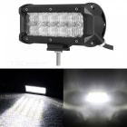 60W 12-LED Off-road 4WD UTV Driving Lamp / Worklight Bar White Flood Beam 5100lm 6000K (10~30V DC)