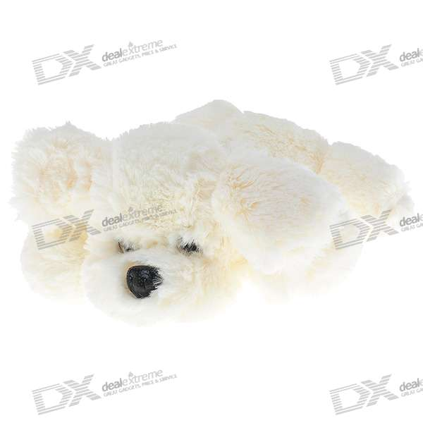 White Fragrant Plush Puppy Doll Toy - Small