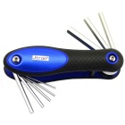 Jtron 8-in-1 Hexagon Screwdriver Tool Set - Blue