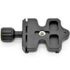 Quick Releae Clamp w/o Plate for Arca SWISS Tripod Ball Head - Black