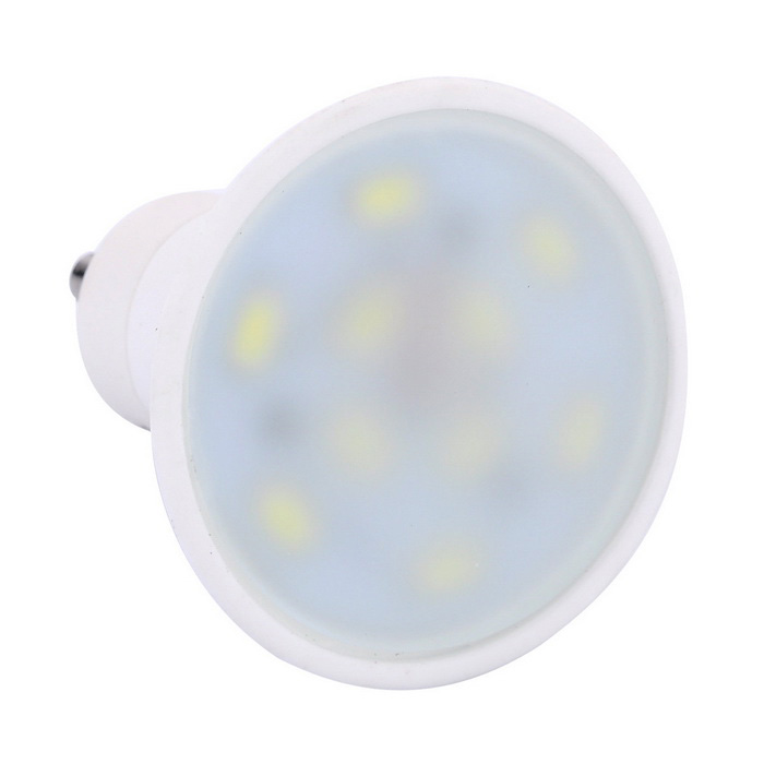 GU10 5W LED Spotlight Bulb Cold White 480lm 10-5730 SMD (AC 85~265V)