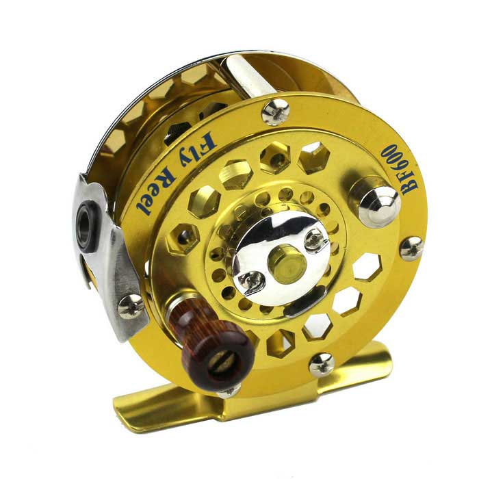 Stainless Steel Bearing Fishing Wheel Reel Gear - Golden + SilverFishing Reels &amp; Rods<br>Form ColorGolden + silverQuantity1 DX.PCM.Model.AttributeModel.UnitMaterialStainless steelPowered ByPower FreeHead Circumference0 DX.PCM.Model.AttributeModel.UnitChest Girth0 DX.PCM.Model.AttributeModel.UnitPalm Girth0 DX.PCM.Model.AttributeModel.UnitFishing Site River,Pool,Sea,Surf Fishing,Sea Boat Fishing,Rock Fishing,Reservoir,Stream,PondGlove Length0 DX.PCM.Model.AttributeModel.UnitPacking List1 x Fishing reel<br>