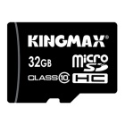 Kingmax Class 10 32GB Security Digital Micro SD / TF Memory Card - Black