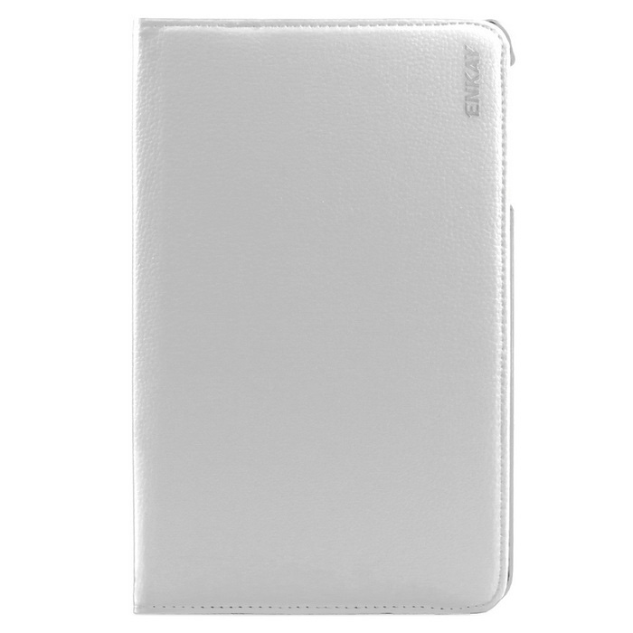 ENKAY Rotation Protective Case for Samsung Galaxy Tab E9.6 - White