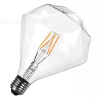 E27 4W warm wit grote diamant vormige LED gloeilamp (AC 85 ~ 265V)