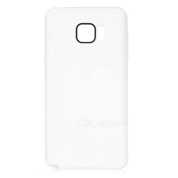 Protective TPU Back Case for Samsung Galaxy Note 5 - White