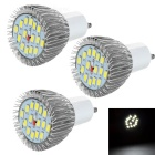 JRLED GU10 7.5W LED Spotlights Bulbs Warm White Light 3200K 700lm 15-SMD 5730 (AC 85~265V / 3 PCS)