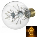 E27 G80 3W 47-LED Decorative Bulb Warm White 3000K 130lm (AC 220-240V)