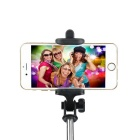 Wireless Retractable Selfie Monopod for Smartphones - Golden + Black