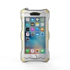 R-JUST Sports Aluminum Alloy Full Body Waterproof Case for IPHONE 6 PLUS / 6S PLUS - Gold + Silver