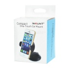 Universal Car Mount w/ Suction Cup for IPHONE + More - Black + White