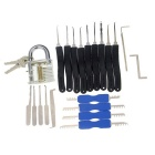 Padlock w/ Single Hook / Comb Style / Advanced Lock Picks Tool Set
