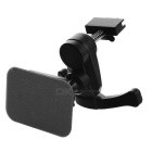 Universal Air Vent Magnetic Car Mount Holder w/ Quick-snap for Cellphones - Black