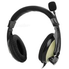 SENICC ST- 2688 de 3,5 mm con cable Diadema Headset w / Mic ..para Tablet PC / Copmputer - Negro