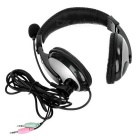 SENICC ST-2688 3.5mm Headband Headset w/ Mic for Tablet PC - Black