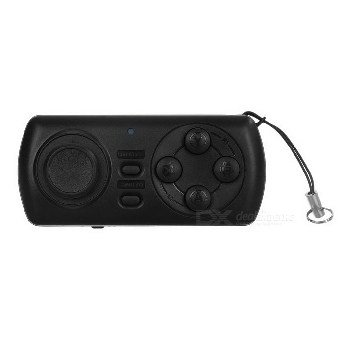 Multifunktions-Wireless-Bluetooth V3.0 Selfie Shutter Remote / Spielkonsole Controller - Schwarz
