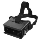 "Universal Virtual Reality 3D & Video Glasses w/ Magnet for 3.5~6"" Smartphones - Black"