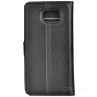 Protective PU Leather Flip-open Case for Samsung Galaxy Note 5 - Black
