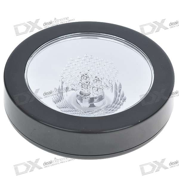 Colorful LED Changing Drink Coaster (3*AAA)