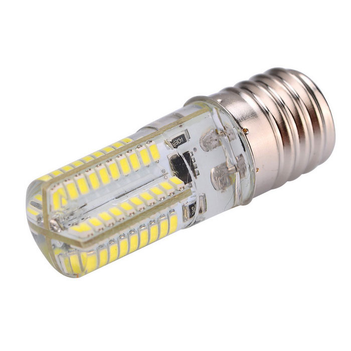 Dimmable E17 5W 80-SMD 3014 450lm Cold White LED Corn Bulb (AC 220V)