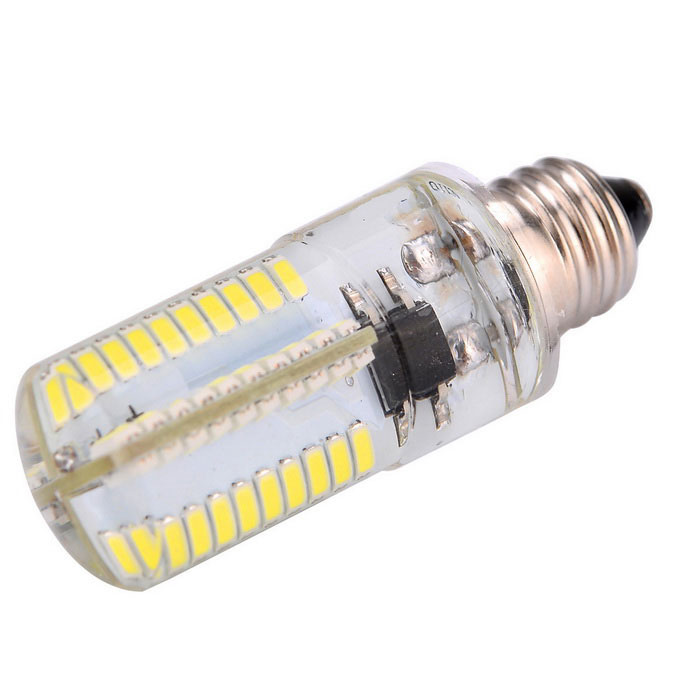 Dimmable E11 5W 80-3014 SMD 450lm Cool White LED Corn Bulb (AC 220V)