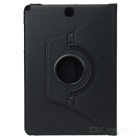 360' Rotating Protective Case Cover for Samsung Tab A 9.7 - Black