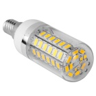 E14 12W 60-SMD LED 3000K Warm White Light LED Corn Light Bulb (5PCS)