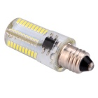 E11 5W regulable LED bulbo del maíz blanco fresco 450lm Luz 80-SMD3014 (110V)