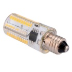 E11 5W Dimmable 80-SMD LED Corn Bulb Warm White Light 450lm 3000K