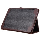"Protective PU Case w/ Stand for Samsung Galaxy Tab A 9.7"" - Brown"