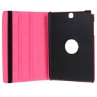360' Rotating Protective Case Cover for Samsung Tab A 9.7 - Deep Pink