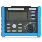 BSIDE AIM01 Professional Digital High Voltage Insulation Meter w/ 50~1000V Output - Blue + Grey