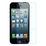 FineSource Soft Nano Tempered Glass Screen Guard Protector for IPHONE 5 / 5C / 5S - Transparent