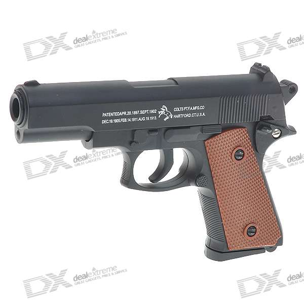 M6601 6mm Spring-load Alloy Pistol BB Gun Toy