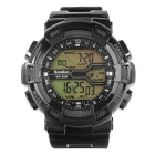 BESTDON BD5517G Men's Waterproof LED Digital Sports Watch w/ Calendar - Black (1 x 2025)