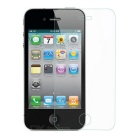 FineSource Soft Nano Tempered Glass Screen Guard Protector for IPHONE 4/ 4S - Transparent