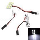 T10 0.4W LED Festoon Reading Lamp Cool White 26740K 55lm 6-SMD 5730 (12V)