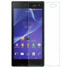 FineSource 9H Anti-Explosion Tempered Glass Screen Guard Protector for Sony C3 - Transparent