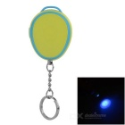 Robbery Protection Self-Defense Safety Personal Alarm Keychain w/ UV Money Detector - Blue + Yellow