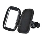 "Motorcycle / Bike Mount for 4~4.5"" Screen Cellphones - Black"