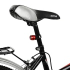 FJQXZ LED 3-Mode Cool White Bike Helmet / Taillight Lamp - Black + Red