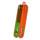 EDCGEAR Convenient Aluminum Alloy Keys Organizer Holder - Orange