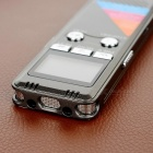 "1.2"" 8GB ruisonderdrukking digitale voice recorder w / speaker - grijs"